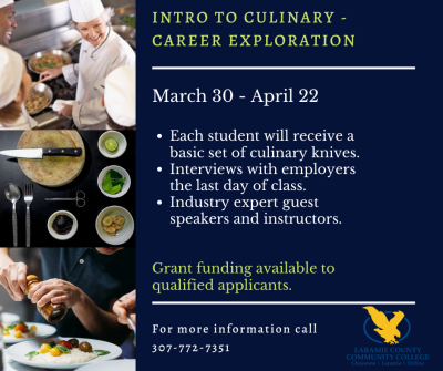 Intro to Culinary Career Exploration