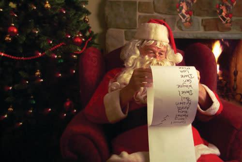 Santa at Four Seasons
