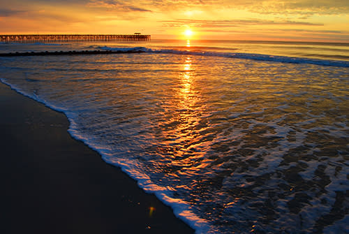 Pawleys Island Sunrise with pier