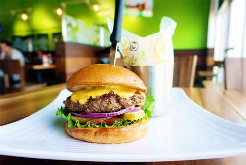 Cheeseburger Liberty Burger