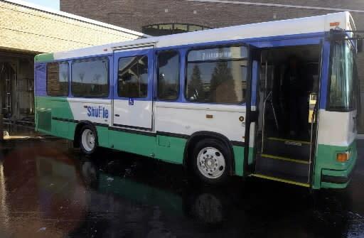 Huntsville Shuttle bus