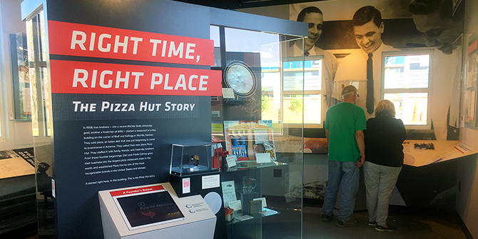 Pizza Hut Museum inside