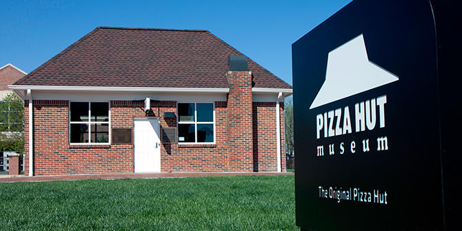 Pizza Hut Museum exterior