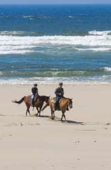 Horseback Riding at the Oregon Coast