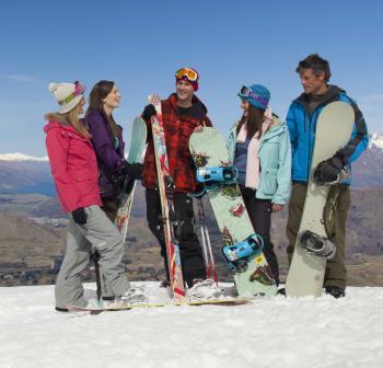 Group at Coronet Peak