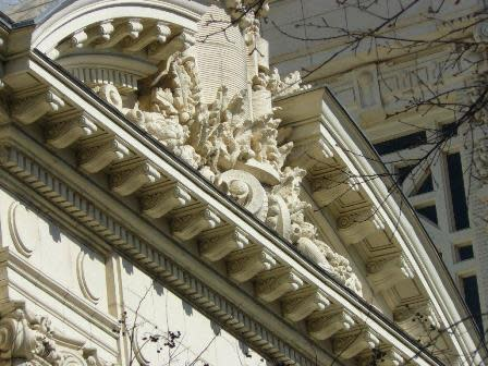 Detail on City Hall