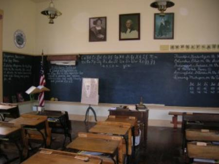 Take a step back in time to 1892 in the Pittsboro One Room School.