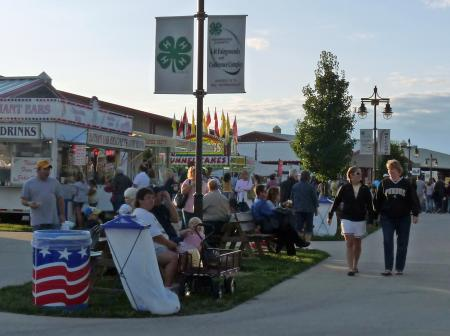 Hendricks County 4-H Fair Promenade