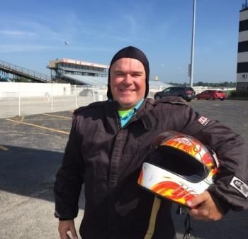 Right before I hit 146 mph at Lucas Oil Raceway with Pure Speed Drag Racing Experience