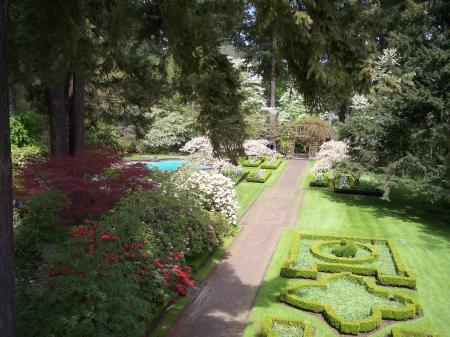 Lakewold Gardens in Lakewood, WA