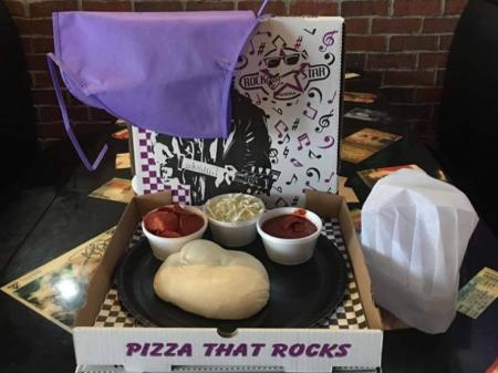 Rock Star Pizza take and make pizza kit (Photo courtesy of Rock Star Pizza's Facebook page)
