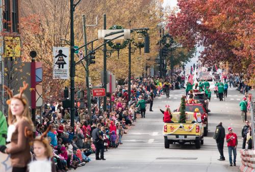 Asheville Holiday Parade