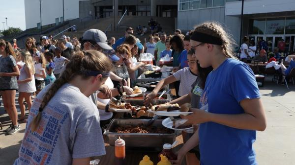 Topeka Impact Volleyball BBQ