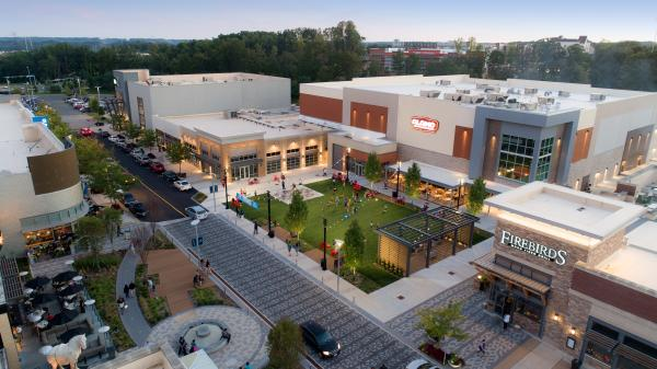 Stonebridge at Potomac Town Center aerial view