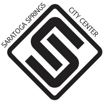 Saratoga Springs City Center logo
