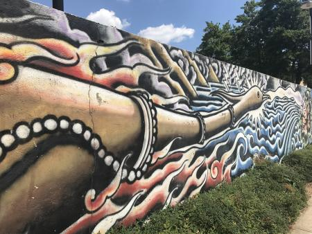 Phoenix mural