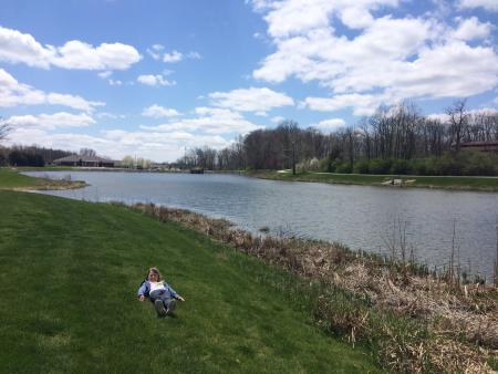 Enjoy fishing or rolling at Avon Town Hall Park Lake!