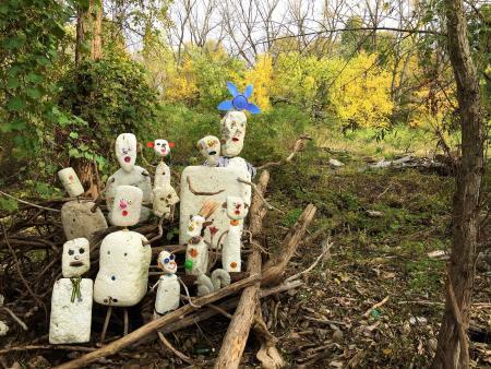 Al Gorman's Styrofoam family