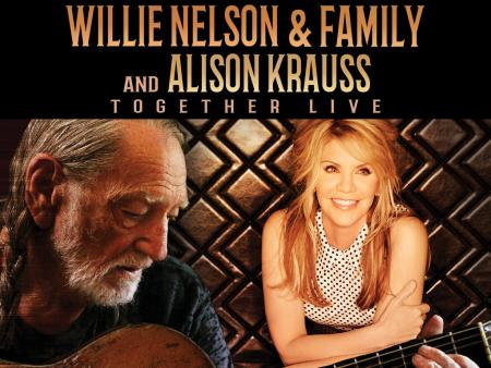 Willie Nelson & Family and Alison Krauss Concert Promotion Graphic - Allen County War Memorial Coliseum