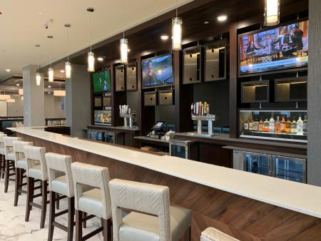 Try local brew at the Embassy Suites bar!