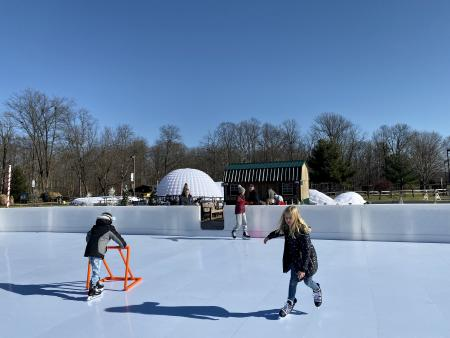 penguin park, open skate, washington township parks
