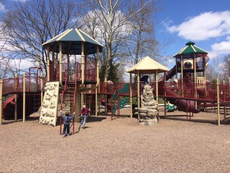 Avon Town Hall Park playground