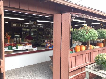 Belleville Farm Market in the fall