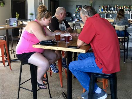 Good eats, good beer, and good times await you at Brew Link Brewpub in Plainfield, Ind.