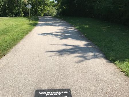 Vandalia Rail Trail, East, Plainfield