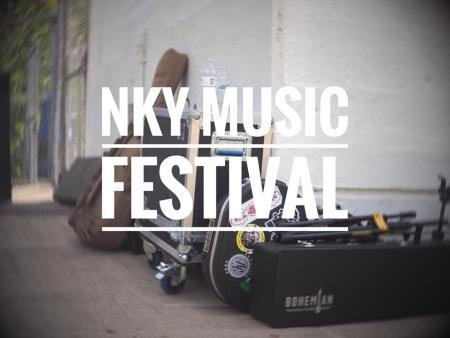 promo graphic for nky music festival in covington ky