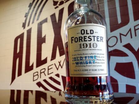 old forester tasting