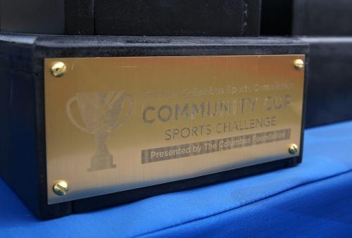 Community Cup Trophy Close Up