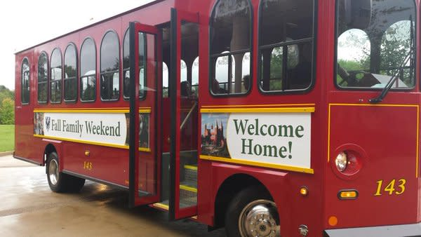 Saint Vincent College trolley