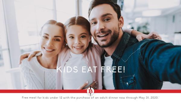 Blaze kids eat free