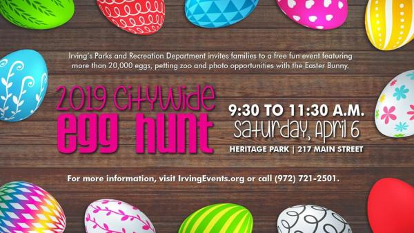 Citywide Egg Hunt
