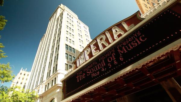 Imperial Theater walking tour