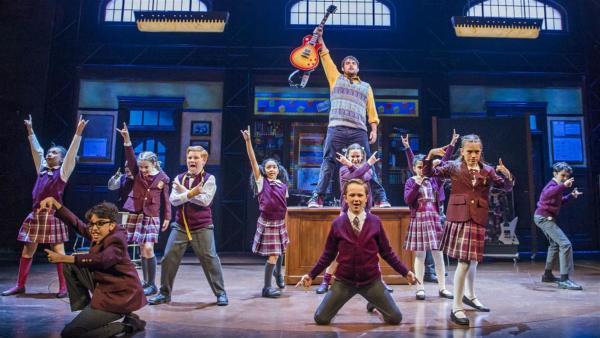 """Performers in  """"School of Rock"""" Musical"""