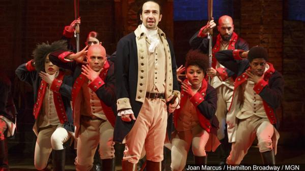 "Performer in ""Hamilton"" Broadway"