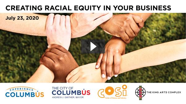 Creating Racial Equity in Your business webinar