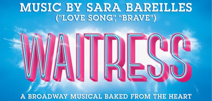 Waitress, the musical, will be performing at the Peabody Auditorium