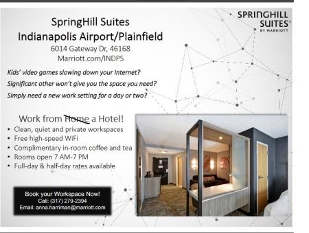 Springhill Suites Work from Hotel information