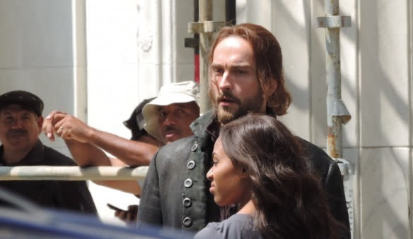 Sleepy Hollow Filming