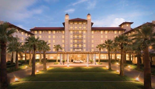 Galveston Island's Hotel Galvez