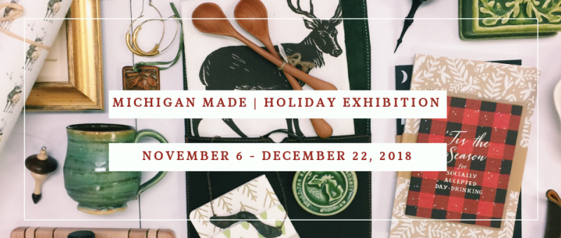 Lansing Art Gallery Holiday Show 2018
