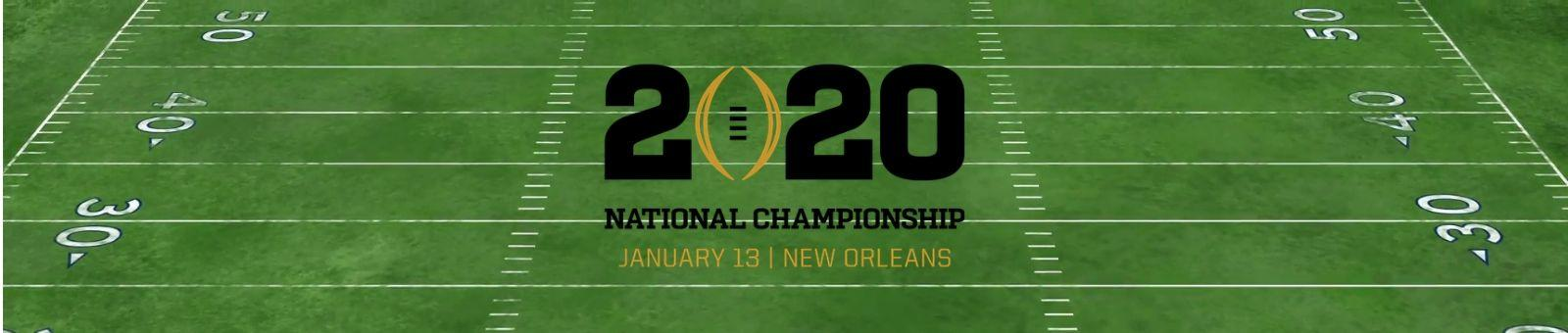 National Championship 2020 Packages