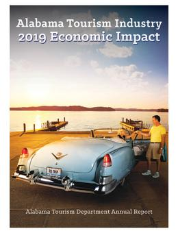 2019 Alabama Tourism Economic Report Cover