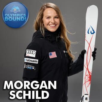 Morgan Schild 2018 Olympics
