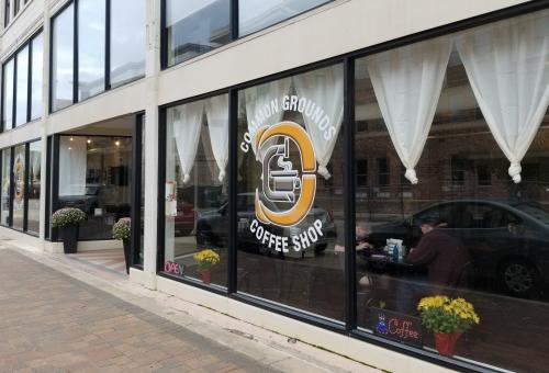 Common Grounds Coffee Shop - store front