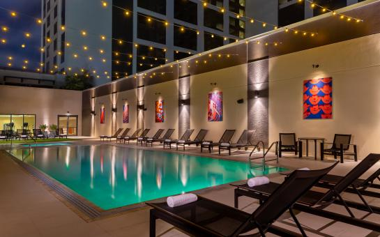 Hilton Austin Skyline Pool & Lounge Chairs