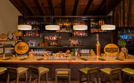 Hilton Austin Cannon + Belle Restaurant Bourbon Bar